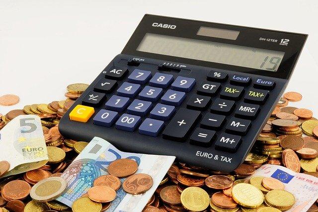 kalkulačka peněz