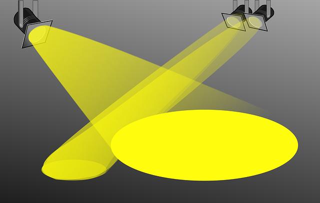 žluté reflektroy