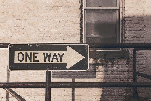 jednosměrné ulice